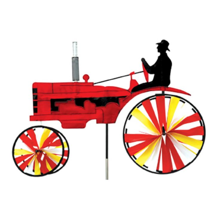 Premier Designs Old Tractor Red Wind Spinner - PD25661