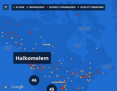 Google joins fight to save endangered B.C. First Nations languages