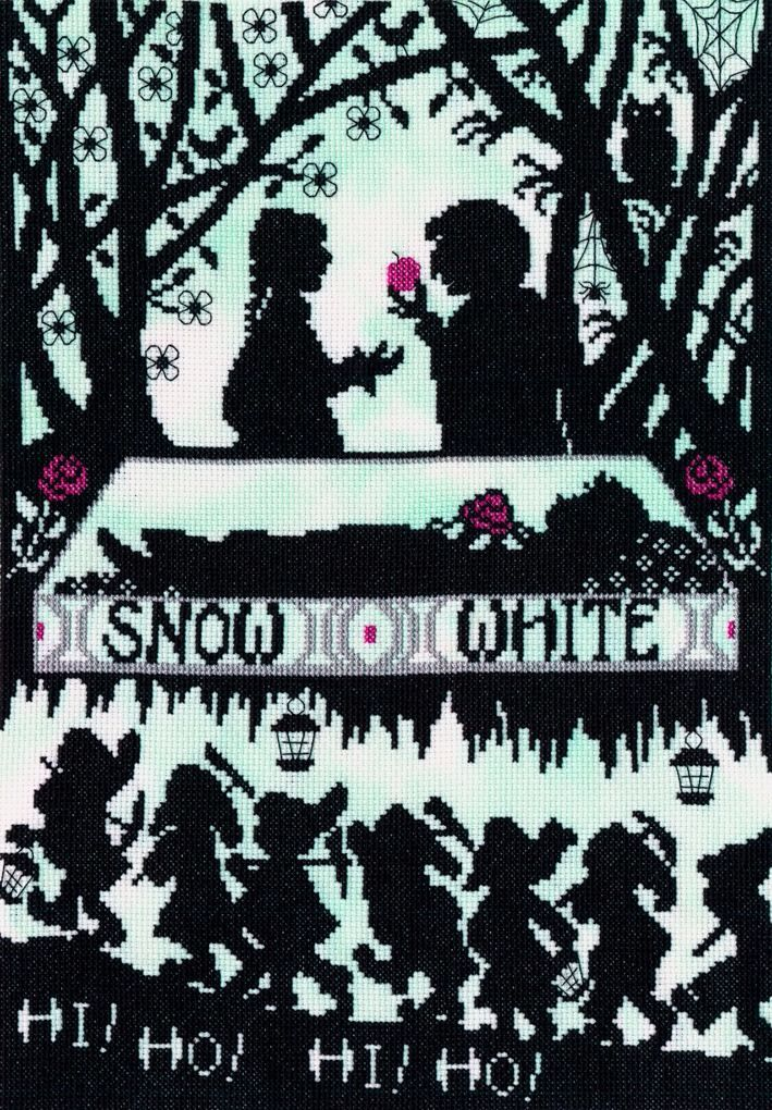 Snow White - Fairytale Series cross stitch kit by Bothy Threads