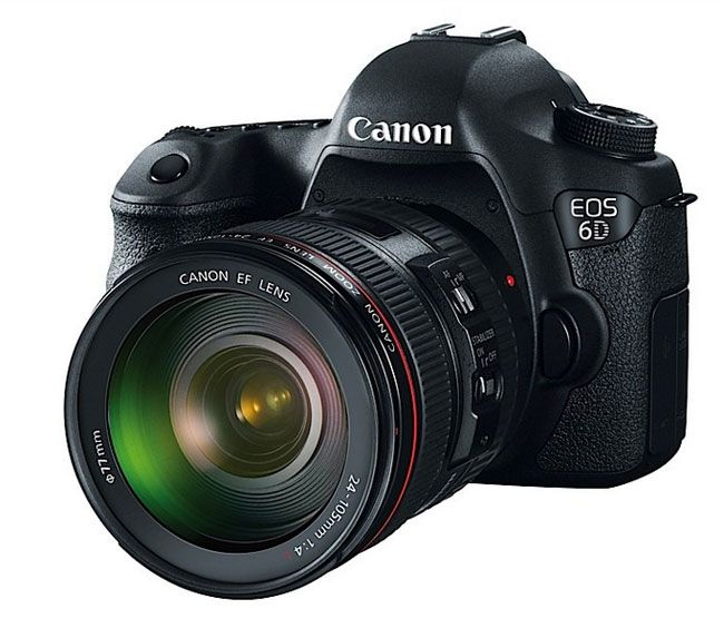 New Canon EOS 6D full frame SLR, featuring WiFi & GPS with 20.2mp sensor. It connects to your iPhone or Android smartphone to fully managed all functions including shutter and liveview!