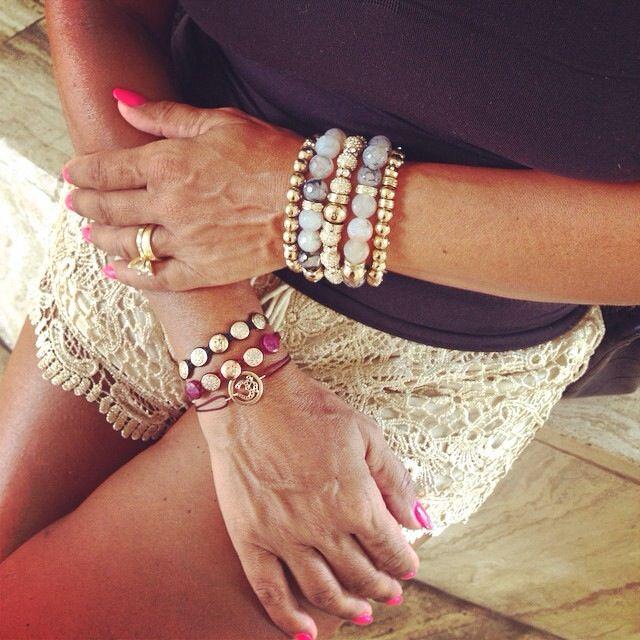 La Chance Spirit Collection. Fortune Beads In 12mm precious Agat, Spirit Ball Bracelet and AUM bracelets. www.lachance.dk