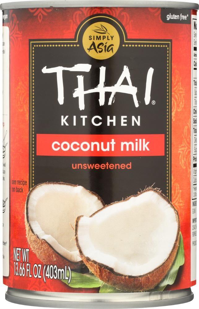 Thai Kitchen Coconut Milk Unsweetened 14 Oz Unsweetened