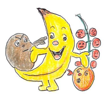 Natürlich, werden Sie sagen, inzwischen ist die gelbe Mondsichel schon lange keine Exotin mehr, so heimisch ist sie auf unserem Obstteller geworden. Aber eines ist Ihnen sicher auch schon aufgefall…