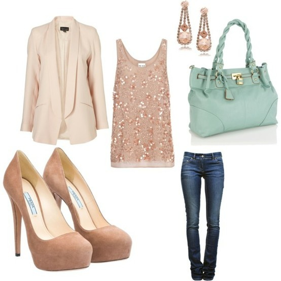 Classic and Elegant: Date Night, Pastel, Colors Combos, Style, Cute Outfits, Than, Blazers, Night Outfits, Bags
