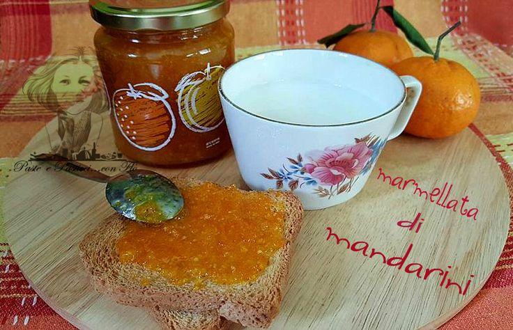 """Quando si ha la fortuna di avere dei mandarini di ottima qualità come il""""tardivo di ciaculli""""è un peccato non fare la marmellata di mandarini ."""