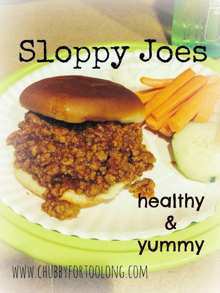 Chubby for too long!: Super Yummy and Healthy Sloppy Joe Recipe