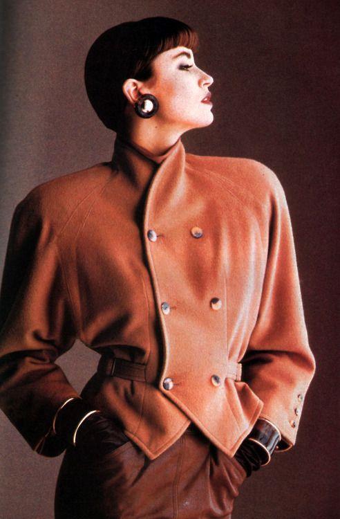 Tiktiner, American Vogue, September 1986.