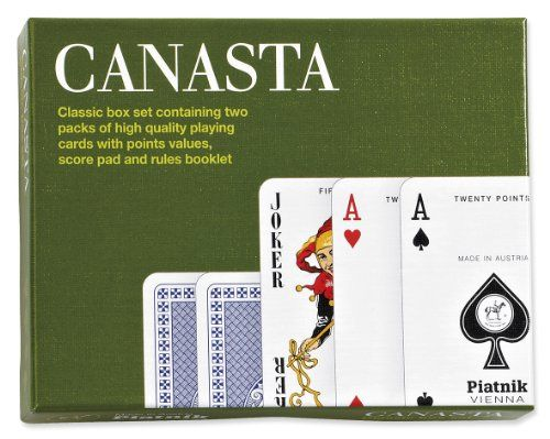 Piatnik Canasta Card Game ** Details can be found by clicking on the image.
