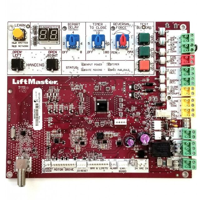 Liftmaster K1d6761 1cc Main Board Ac Pad Mounts Ul 325 Liftmaster Gate Operators Pad