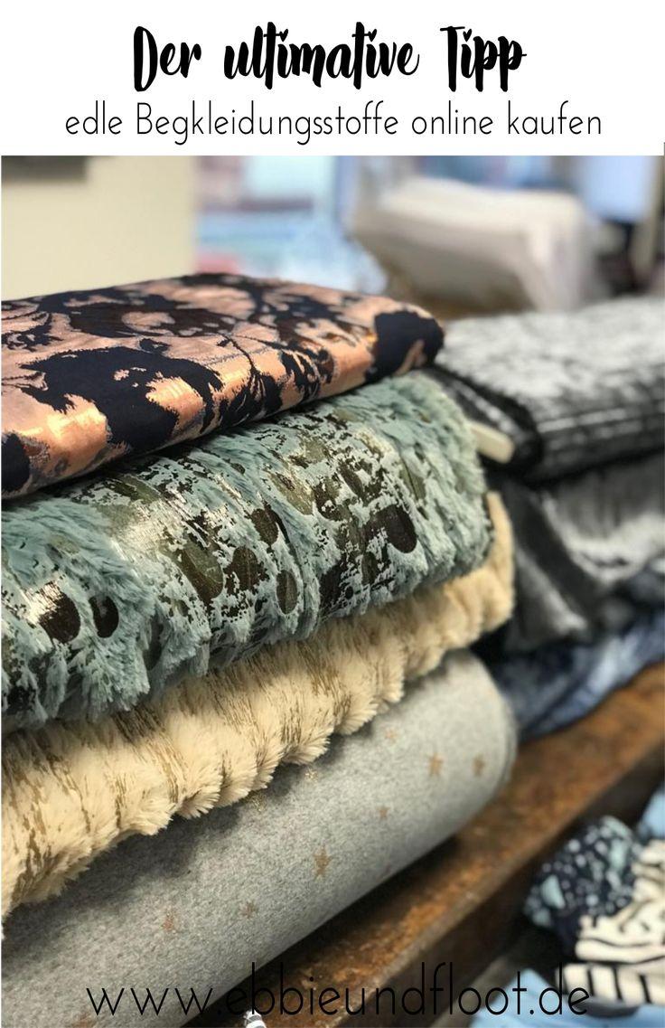 Edle Stoffe online kaufen – 5 Shops die du kennen solltest – ebbie & floot – Nähen, Schnittmuster für Plus Size Mode und Plus Size Fashion Outfits