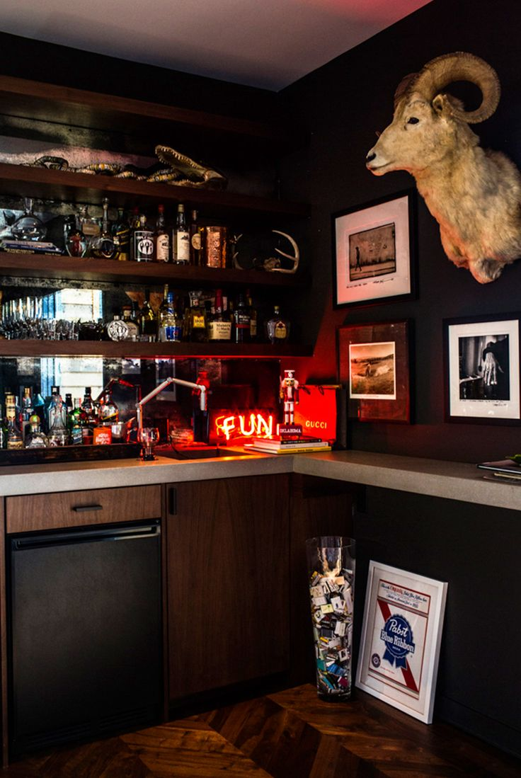 Home Tour: The Nashville Home Of Kings Of Leonu0027s Nathan Followill. Man Cave BarHouse  BarMancave IdeasKings ...