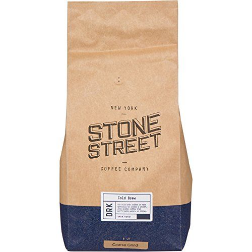 Stone Street Coffee Cold Brew Reserve Colombian Single Origin Coarsely Ground Coffee – 5 lb. Bag – Dark Roast