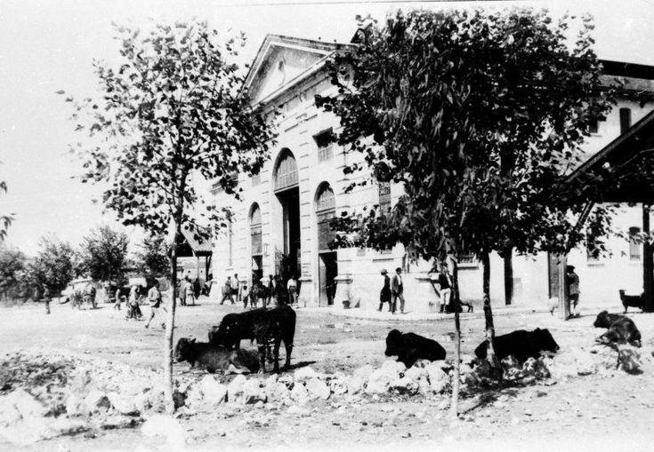 1915, δημοτική αγορά Χανίων. Είναι κοντά στα 2 χρόνια λειτουργίας της. http://blog.mantinades.gr/