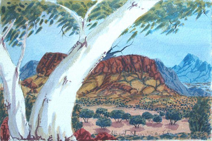 West MacDonnell Ranges NT by Kwementyaye Namatjira Jr