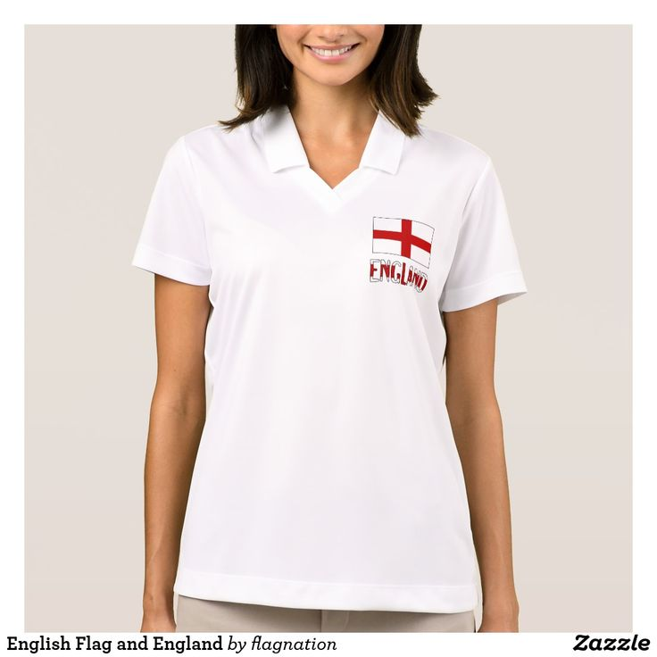 English Flag and England Polo Shirt
