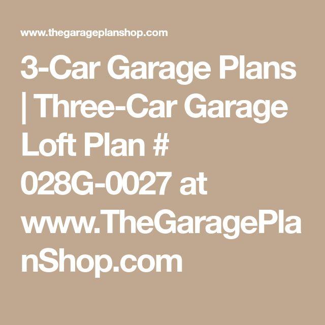 Best 25+ 3 Car Garage Plans Ideas On Pinterest