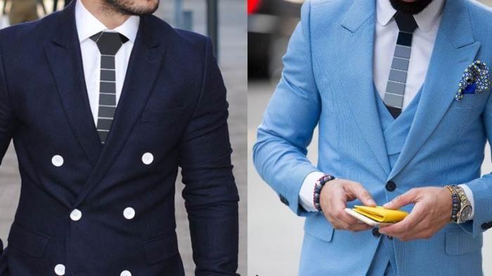 Aksesoris Pria - Ingin Terlihat Rapi dan Cool Saat di Kantor? Pakai Dulu Dasi Motif Ini, Boy!