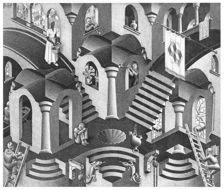 Pin By Jonathan Pena On Galerias Escher Art Art Surreal Art