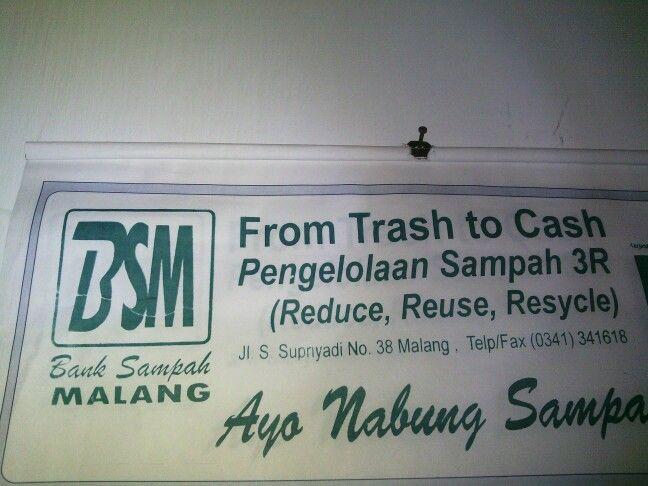 Bank sampah malang