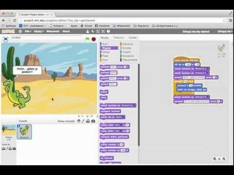 Scratch - podstawy pracy z programem - YouTube