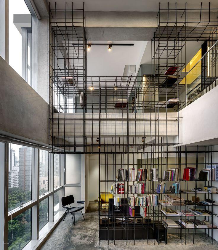 Loft à structures fonctionnelles |MilK decoration