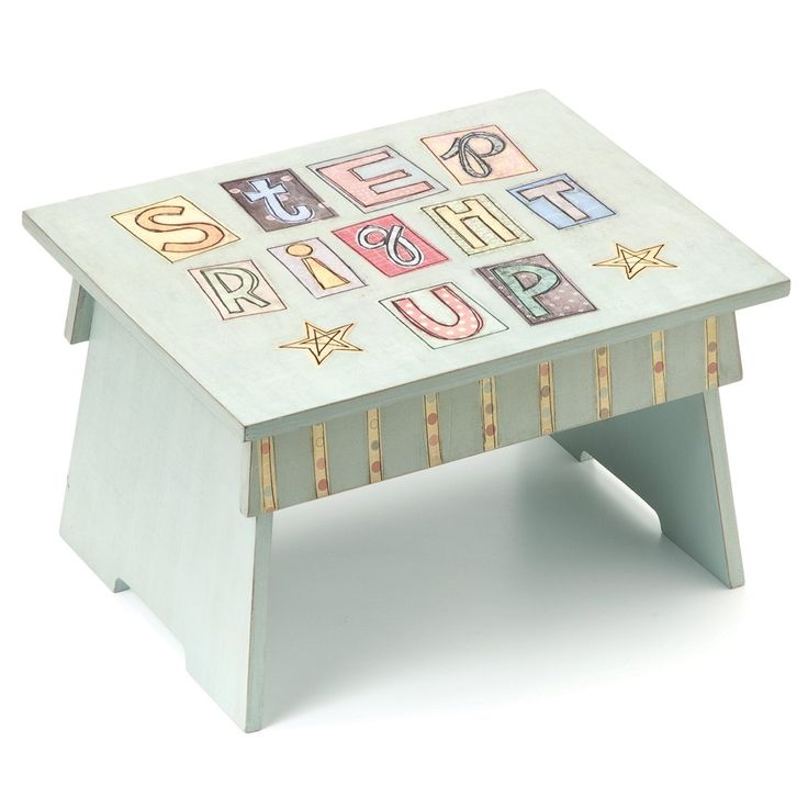 demdaco this thing called family step right up stool step right up can support up to 250 lbs - Childrens Step Stool