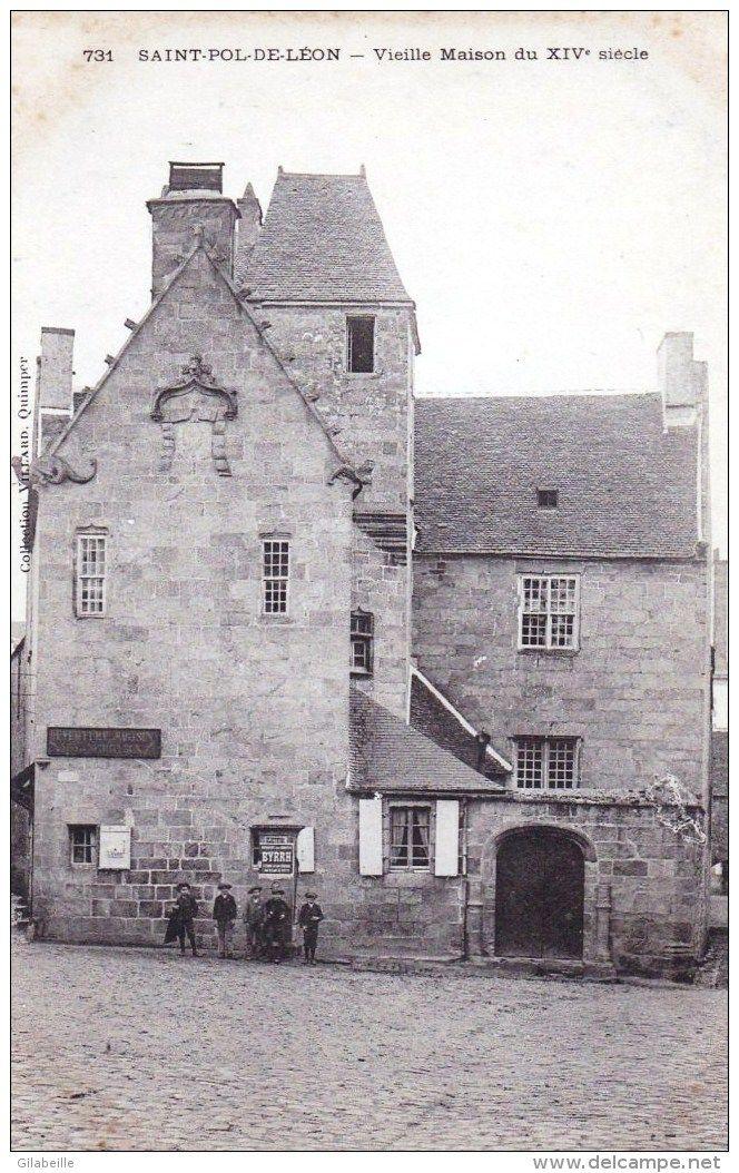 Saint-Pol de Léon - vieille maison du XIVe siècle