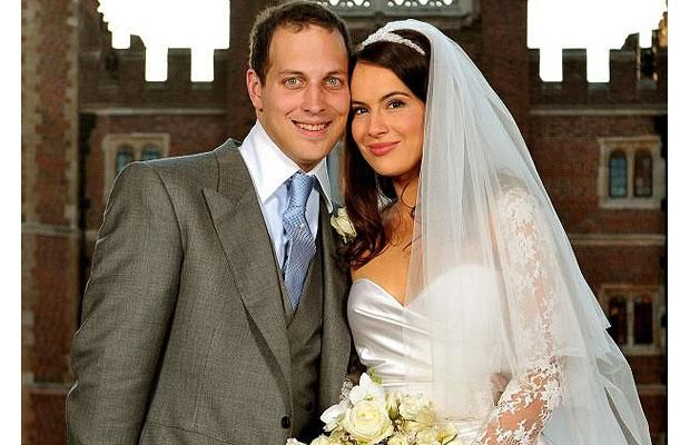 Lord Frederick Windsor (born on 6 Apr 1979), son of Prince and Princess Michael of Kent) marrying Sophie Winkleman  14 February 2009