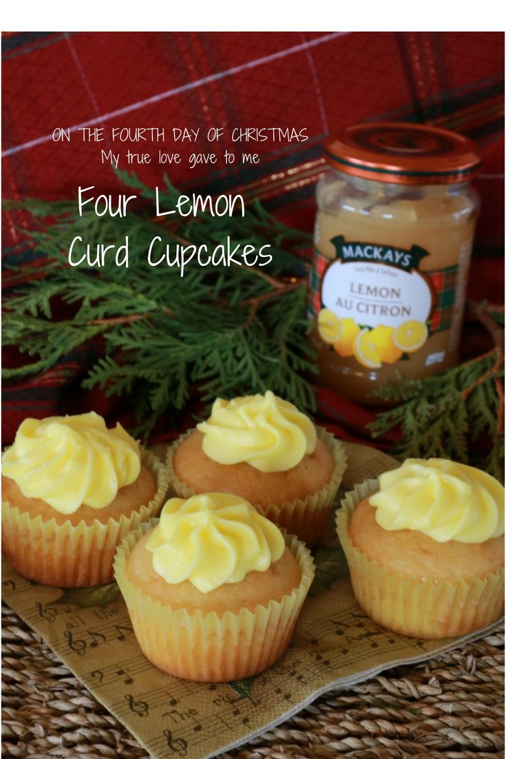 Amazing Lemon Orange cupcakes with Cream Cheese Lemon Icing filled with Lemon Curd. These are a lot better gift than 4 calling birds for your true love. (scheduled via http://www.tailwindapp.com?utm_source=pinterest&utm_medium=twpin)
