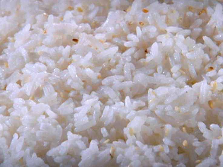 Coconut Rice recipe from Semi-Homemade Cooking via Food Network