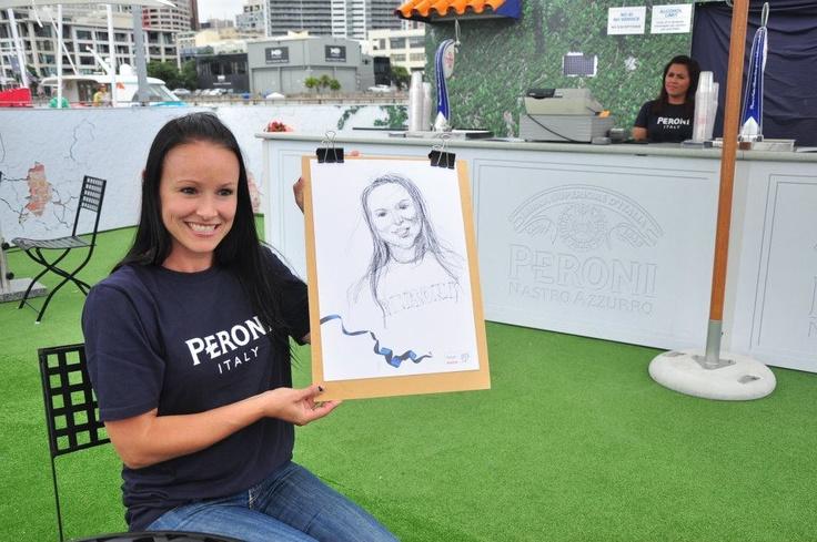 Peroni Caricature drawings