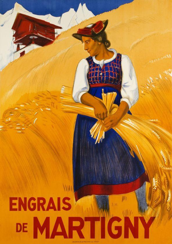 Engrais de Martigny by Hermes Eric / 1945