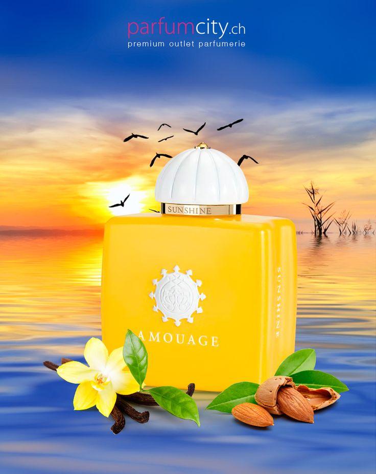 Geniessen Sie den magischen Monent der Freude Amouage Sunshine darf in Ihrem Sommerduft-Repertoire nicht fehlen