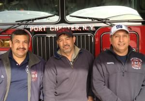 Volunteer firefighter ranks are dwindling across the state, but in immigrant-heavy Port Chester, the opposite is happening, according to the Firemen's Association of the State of New York.