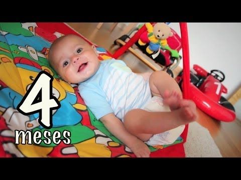 Ejercicios Bebe 4 meses - YouTube