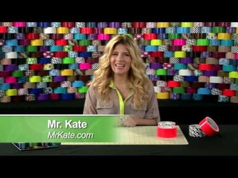 DIY Blogger, Mr. Kate, shows you how to make a tablet cover out of Duck Tape!