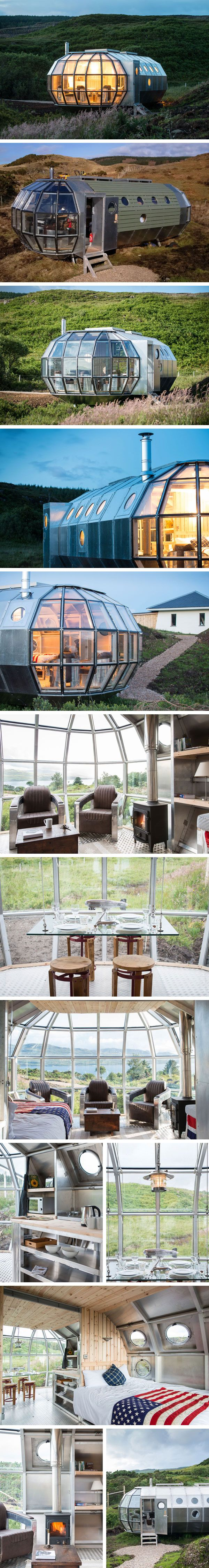 Мобильный дом AirShip Homes от Out Of BLUE #tinyhomesdigest #tinyhouse #smallhouse #ecohouse #countrylife