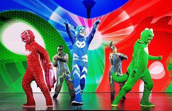 Hit Children S Musical Pj Masks Live Returns To Orleans Arena In Las Vegas Feb 26 Panama City Beach Panama City Panama Pirate Cruise