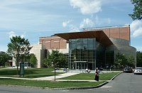 Images of '62 Center for Theatre and Dance, Williams College, by William Rawn