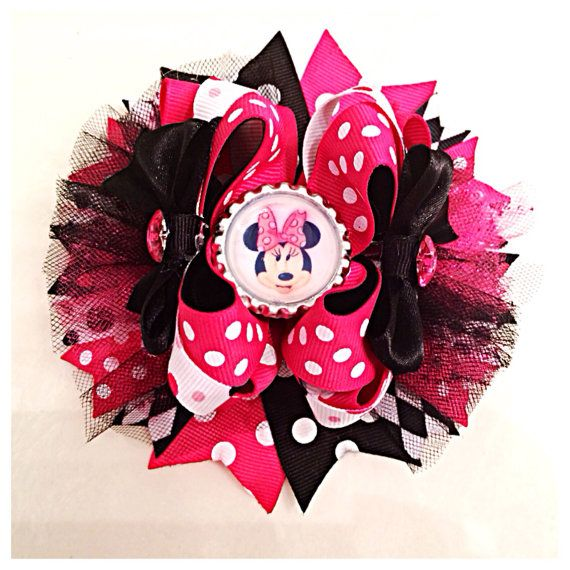 how to draw minnie mouse bows