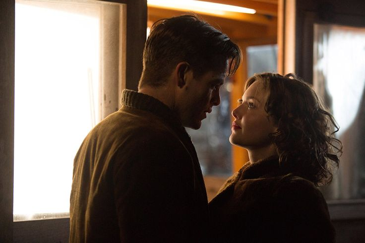 Holliday Grainger and Chris Pine in The Finest Hours (2016)