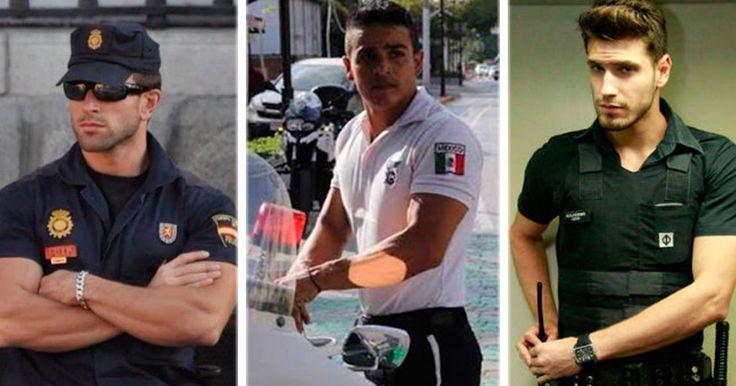 Los 8 policías más guapos y sexys alrededor del mundo. ¡Vas a querer ir presa!