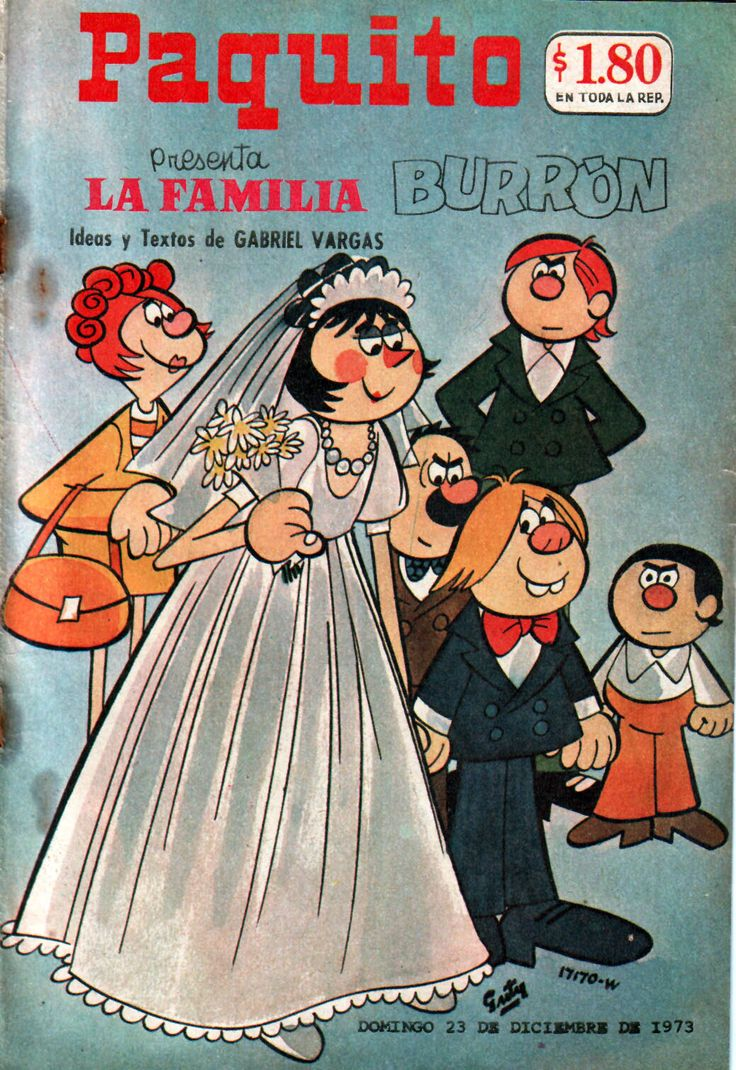 Historieta, Paquito Presenta La Familia Burron