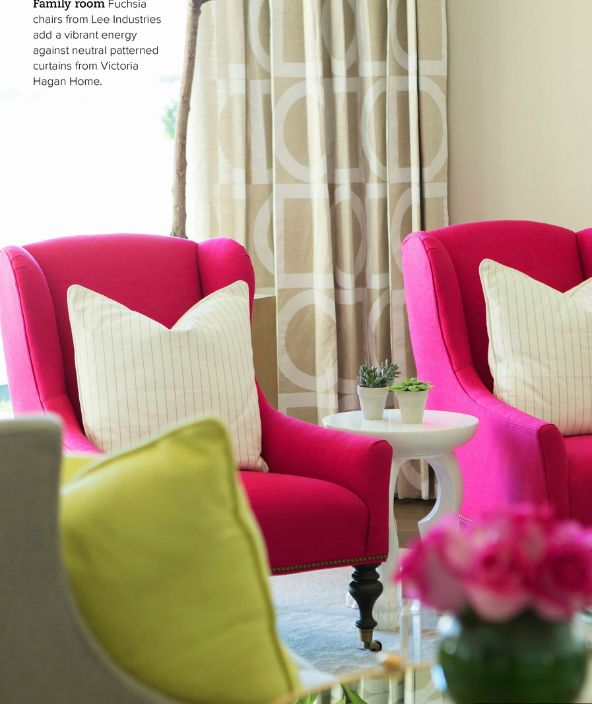 pink accent chairs living room 11 best fuschia navy blue gray living room ideas images 19875