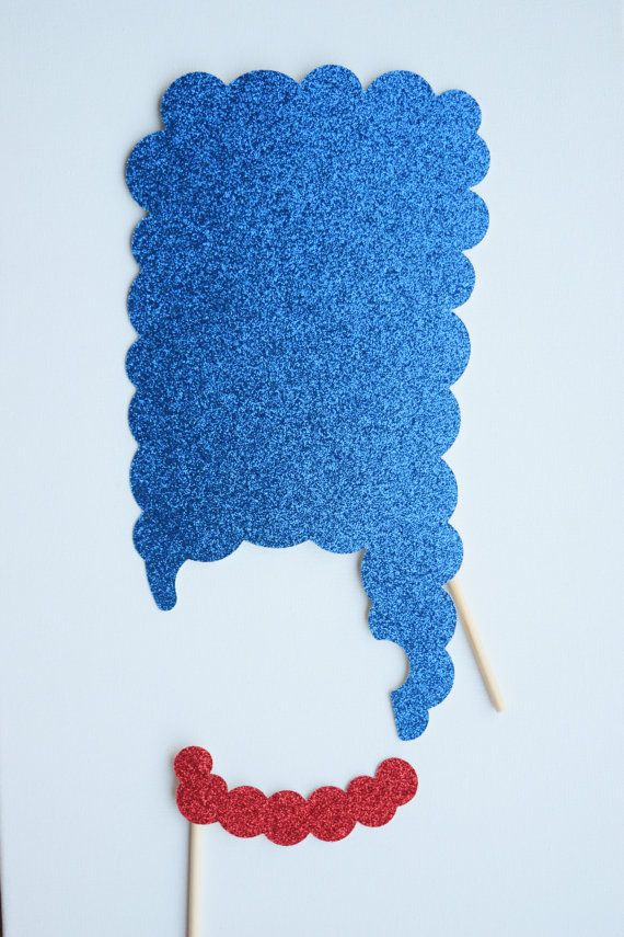 The Simpsons Inspired Photo Booth Props The by LetsGetDecorative