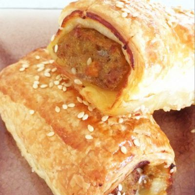 Homemade Sausage Rolls (with hidden vegetables!) - Bake Play Smile
