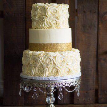 Rosette 50th anniversary Cake | Yelp
