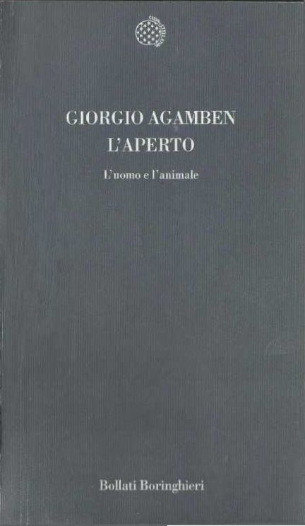 Giorgio Agamben – L'aperto
