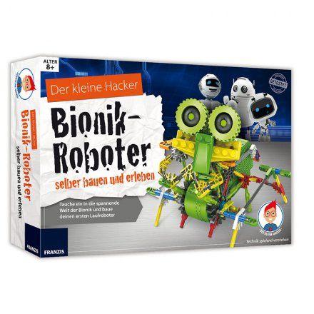 Franzis Der kleine Hacker - Bionik-Roboter selber bauen online kaufen ➜ Bestellen Sie Der kleine Hacker - Bionik-Roboter selber bauen für nur 49,95€ im design3000.de Online Shop - versandkostenfreie Lieferung ab €!