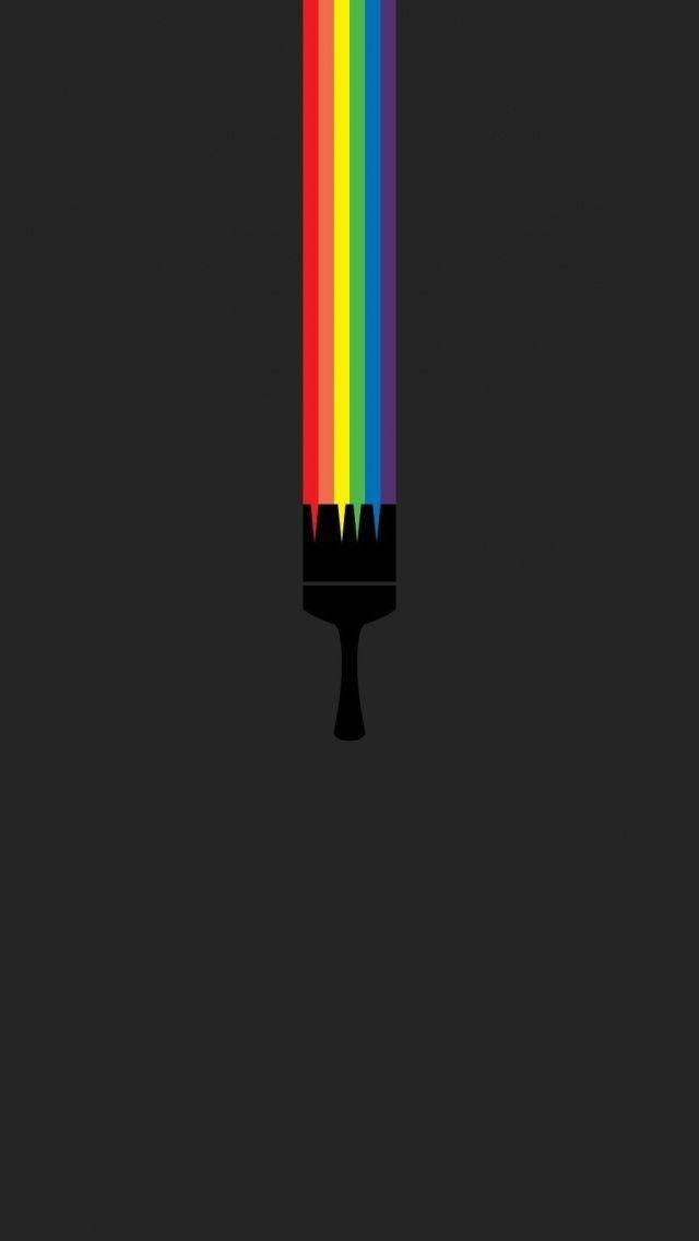 Gay pride phone wall papers
